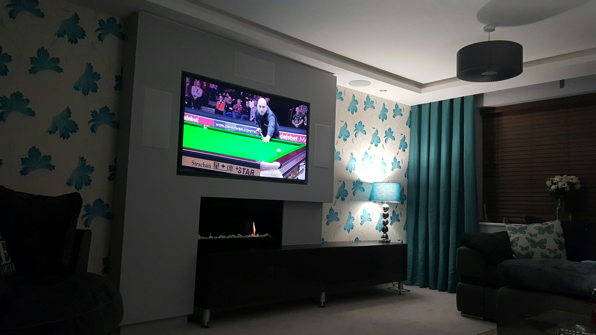 Bespoke TV wall Hayling