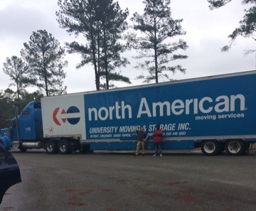 Moving with North American