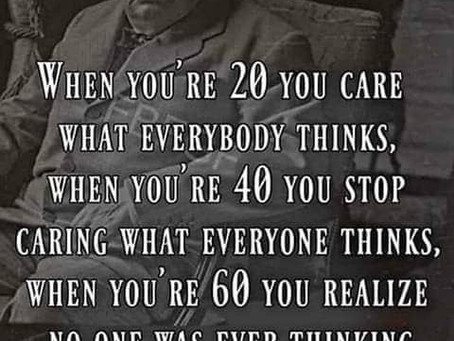 A few wise words