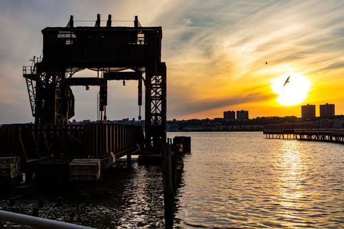 West Side Sunset