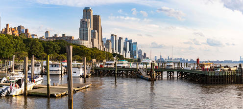Upper West Side from the Docks