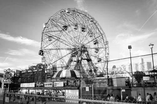Coney Island Ferris Wheel