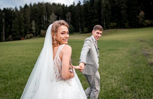 Brautpaar Foto Hochzeitsfotograf Zürich
