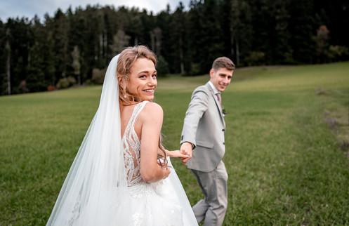 Brautpaar Foto Hochzeitsfotograf schweiz