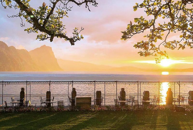 Traumhafter Ort zum heiraten in der Zentralschweiz: das Hotel Viznauerhof gelegen am malerischen Vierwaldstättersee. Yvo Greutert der Hochzeitsfotograf aus der Zentralschweiz