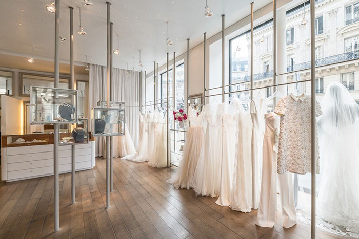 Metal Flaque wedding dress store in Paris, where to buy the best bridal dresses in Paris