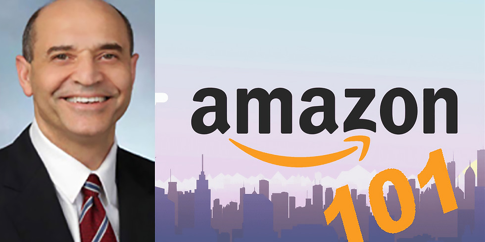 April Luncheon-- Amazon 101 with Victor Hoskins, Who Brought Amazon to the DC Area