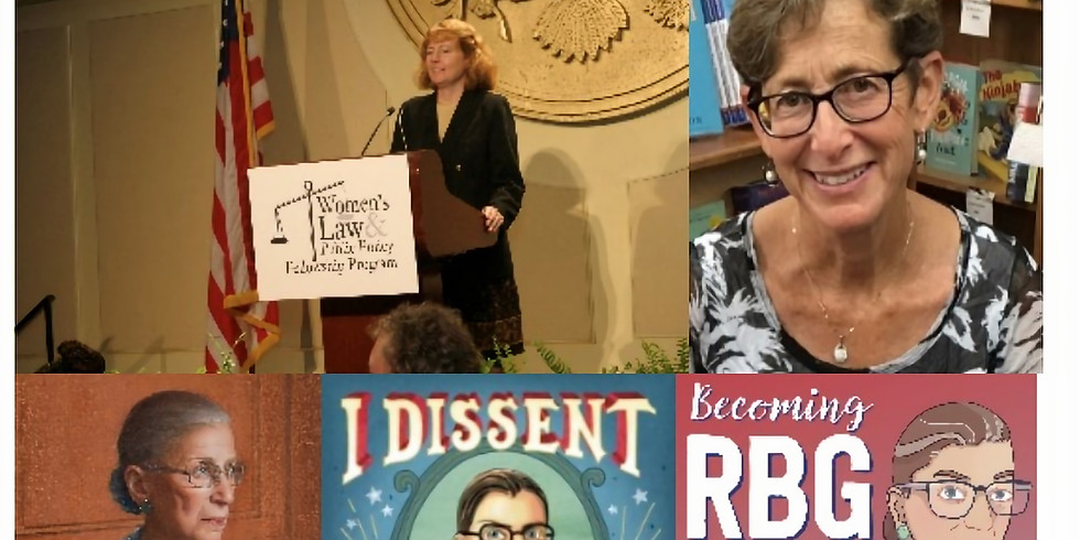 March Luncheon--Debbie Levy & Mary Hartnett on Justice Ruth Bader Ginsburg