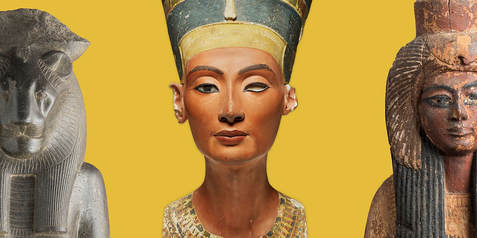 The Charter 100 Pop Up Event! Queens of Egypt at the National Geographic Museum