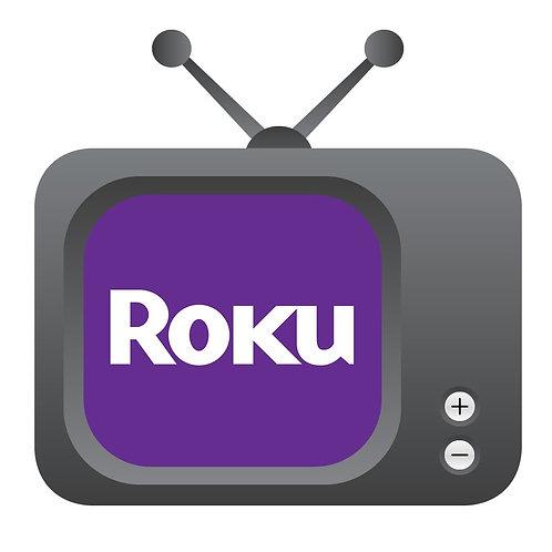 Suscripción a RokuTV - 3 meses / $40.00