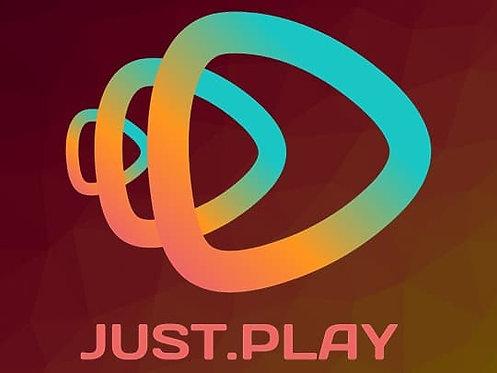 Suscripción a JustPlay - 3 meses / $55.00