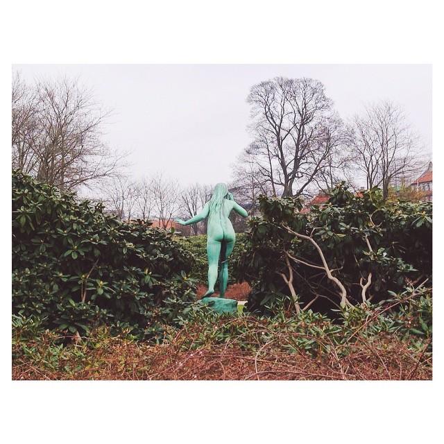 Instagram - #busted #nakedgreengirl #copenhagen