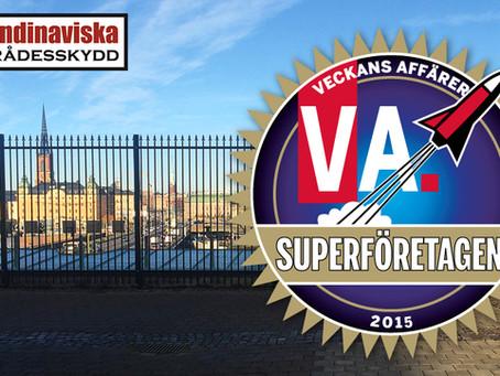 Skandinaviska Områdesskydd utsett till Superföretag