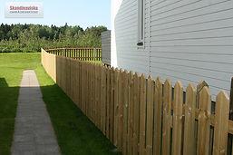 Klassiskt staket
