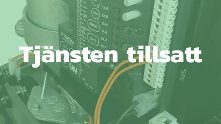 Installatör av grindautomatik, Norrort - TILLSATT
