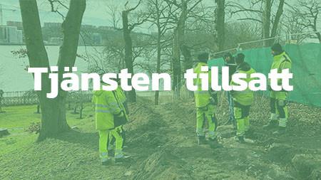Projektledare, Stockholm -TILLSATT