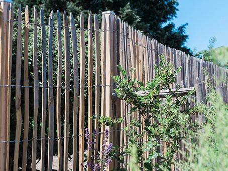 Kastanjestaket -snyggt staket helt utan gifter