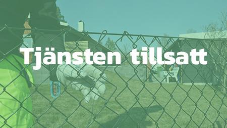 Två självständiga stängselmontörer till serviceenheten, Haninge - TILLSATT