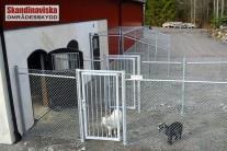 Fårstängsel för djur, till exempel getter, får och höns