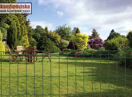 Eurofence trädgårdsnät - en ny sorts stängsel