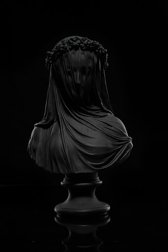MOURNING VEIL STATUE