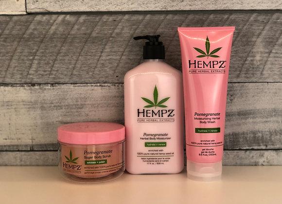 Hempz 3pc Pomegranate Self-Care Bundle