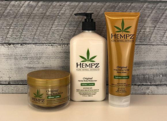 Hempz 3pc Original Self-Care Bundle