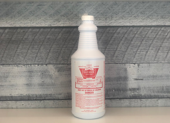 Lucasol Disinfectant Sanitizer *Concentrate- Makes 16 Gal*