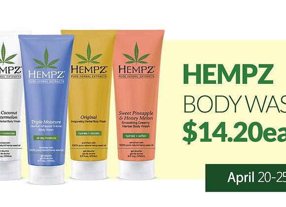 Hempz Bath & Body Products - $14.20ea
