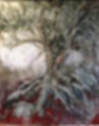 Ancient Motherhood Oil on canvas 60x50x4