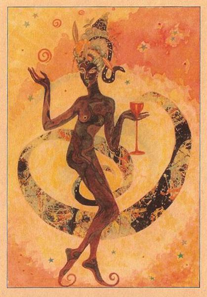 Dancing Black Goddess