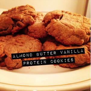 Almond Butter Vanilla Protein Cookie