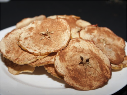 Baked Apple Chips