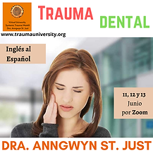 Trauma Dental - Modulo - Dra. Anngwyn St