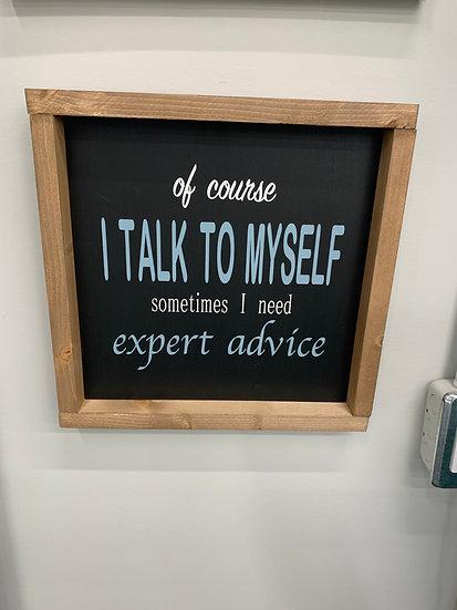 I Talk to Myself 12x12