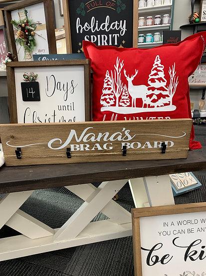 Nana's Brag Board Photo Hanger