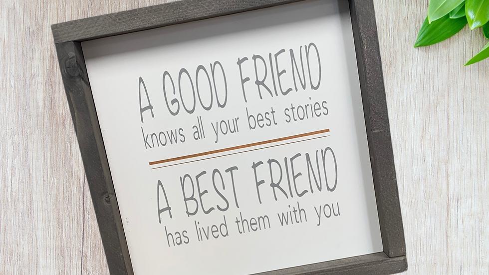 A Good Friend 12x12
