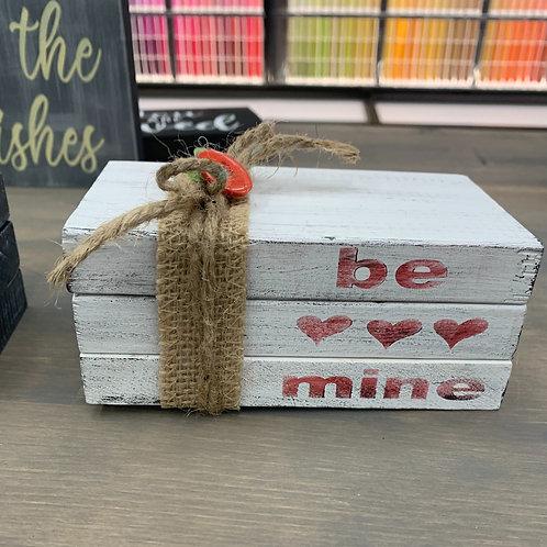 Be Mine Mini Book