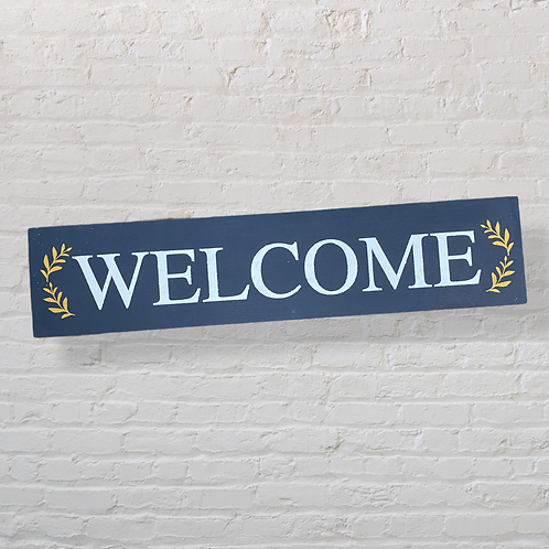 Welcome 4X16 Sign