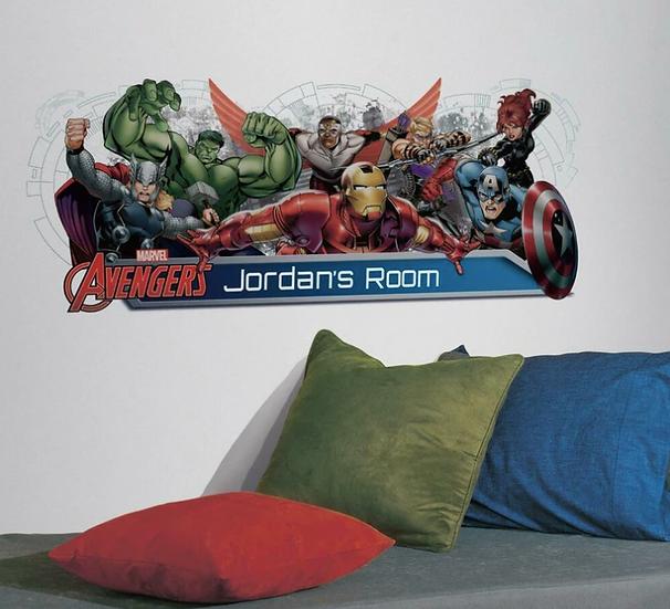 Avengers Headboard