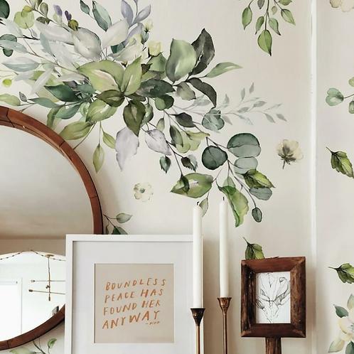 Watercolor Floral Arrangement