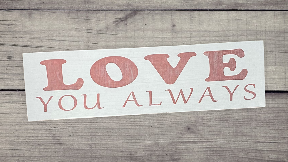 Love you always Mini