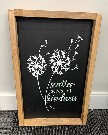 Scatter Seeds of Kindness 10X16