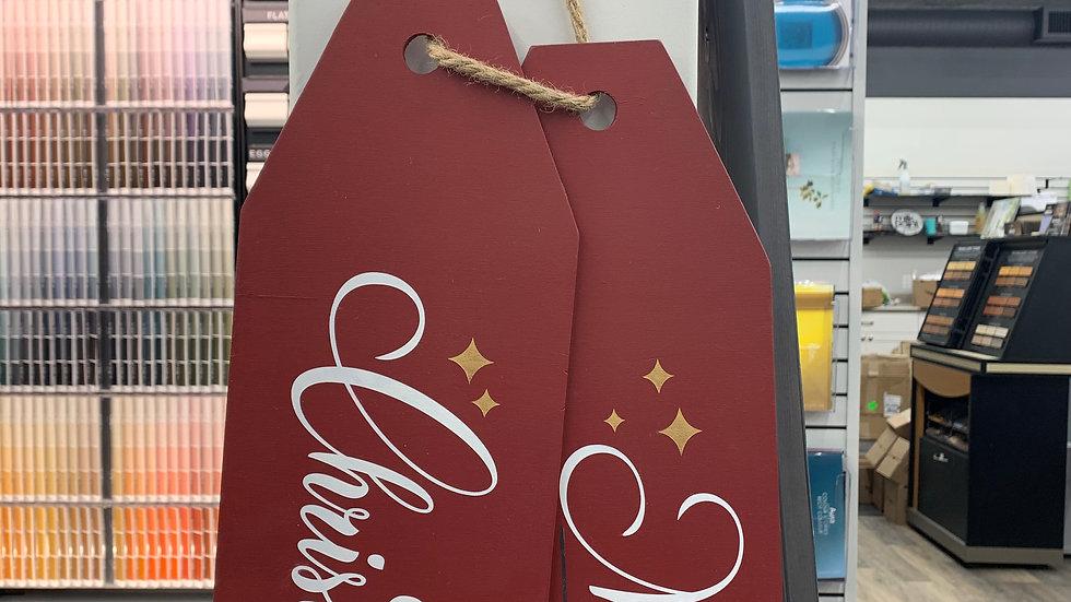 Merry Christmas Door Tag