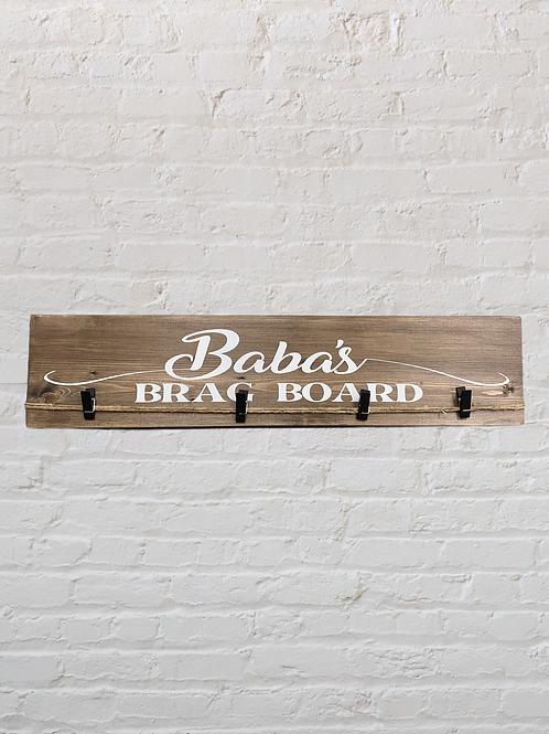 Baba's Brag Board Photo Hanger