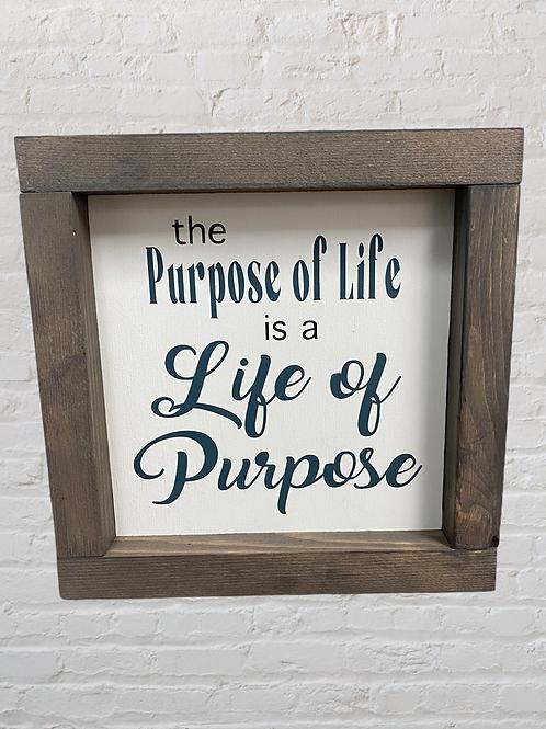 Purpose of Life 7X7