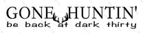 Gone Huntin