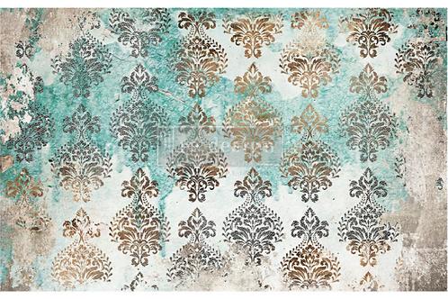 Re-Design Decoupage Paper  -PATINA FLOURISH