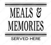 Meals and Memories