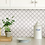 Thumbnail: InHome Quatrefoil Peel & Stick Backsplash Tiles